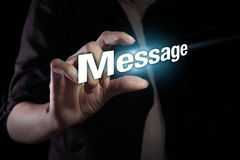 Message Royalty Free Stock Photo