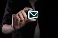Message icon Stock Photos