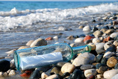 Free Message In A Bottle Royalty Free Stock Images - 10481279