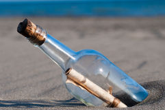 Free Message In A Bottle Stock Photography - 15916192