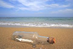 Free Message In A Bottle Stock Image - 16261611