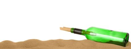 Free Message In A Bottle Royalty Free Stock Images - 4049299