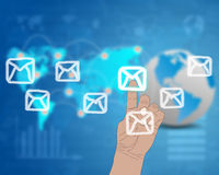 Message Interface Royalty Free Stock Images