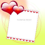 Message of love Royalty Free Stock Photo