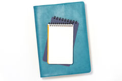 Message and note pad. Royalty Free Stock Images