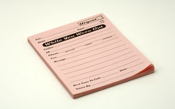 Message Pad Stock Photos