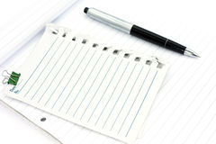 Message pad Royalty Free Stock Photography