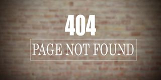 Background not found or not working royalty free stock photography