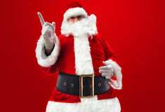Message from Santa Claus Royalty Free Stock Photo