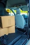 Messager Delivery photo stock
