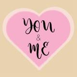 Messages d'amour et mots doux d'amour illustration libre de droits