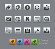 Messages Icons -- Satinbox Series Royalty Free Stock Images