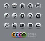 Messages Icons  Stock Photography