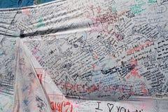 Messages rappelant Michael Jackson Image libre de droits