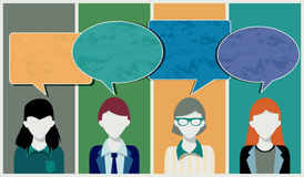 Messages from Staff Stock Images