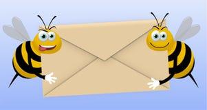 Messaggero Bees Immagine Stock Libera da Diritti