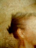 Messaggio Antiqued Immagini Stock Libere da Diritti