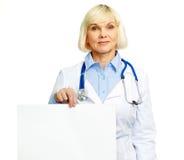 Messaggio dal medico Fotografia Stock