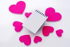 Messaggio di amore illustrazione di stock
