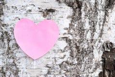 Messaggio di amore Fotografie Stock Libere da Diritti
