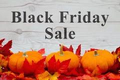 Messaggio di vendita di Black Friday Immagini Stock Libere da Diritti