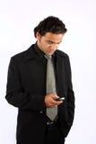 Messaging Businessman Stock Images
