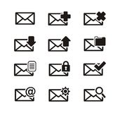 Messaging icon sets Royalty Free Stock Photo