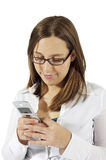 messagingtext Arkivbilder