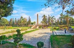 Messalla ogród, Kair, Egipt zdjęcie royalty free