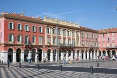 Messanavierkant in Nice Frankrijk Stock Afbeeldingen