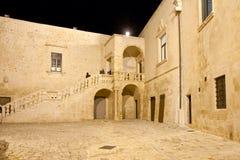 Messapica ducal Brindisi de ceglie de château Images libres de droits