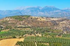 Messara plain. Crete, Greece Stock Photos