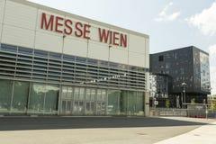 Messe维恩/商品交易会维也纳 库存图片