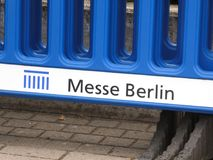 Messe Berlin logo zdjęcia royalty free