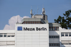 Messe buildings berlin germany Stock Photography