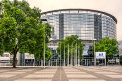 Messe congress centre in Frankfurt Am Main Stock Photography