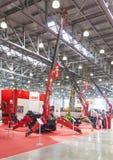 Messe des internationalen Handels von Baugeräten und Technologien Lizenzfreies Stockfoto