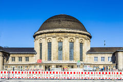 Messe Deutz Railway Station in Cologne Royalty Free Stock Photo
