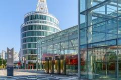 Messe Wien budynek W Wiedeń (targ handlowy Wiedeń) Zdjęcie Stock