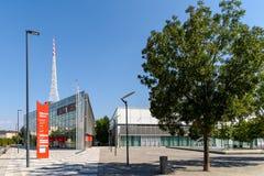 Messe Wien budynek W Wiedeń (targ handlowy Wiedeń) Fotografia Royalty Free