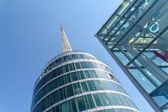 Messe Wien budynek W Wiedeń (targ handlowy Wiedeń) Zdjęcie Royalty Free