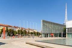 Messe Wien budynek W Wiedeń (targ handlowy Wiedeń) Zdjęcia Royalty Free