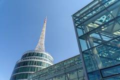 Messe Wien budynek W Wiedeń (targ handlowy Wiedeń) Obraz Royalty Free