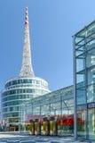 Messe Wien budynek W Wiedeń (targ handlowy Wiedeń) Zdjęcia Stock