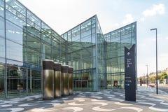 Messe Wien budynek W Wiedeń (targ handlowy Wiedeń) Obrazy Royalty Free