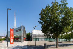 Messe Wien (The Trade Fair Of Vienna) Building In Vienna Royalty Free Stock Photography