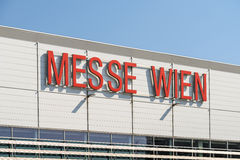 Messe Wien (The Trade Fair Of Vienna) Building In Vienna Royalty Free Stock Image