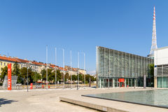 Messe Wien (The Trade Fair Of Vienna) Building In Vienna Royalty Free Stock Photos