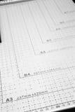 Messen-Tabelle Lizenzfreie Stockfotos