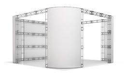 Messenbinder, Ausstellungspavillon Abbildung 3D Stock Abbildung